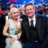 Noch ein Glamour-Paar ganz vorne mit dabei: Gwen Stefani und Blake Shelton
