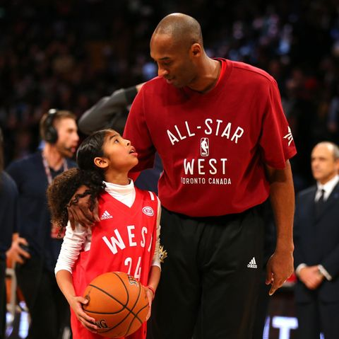 Gianna Bryant und Kobe Bryant