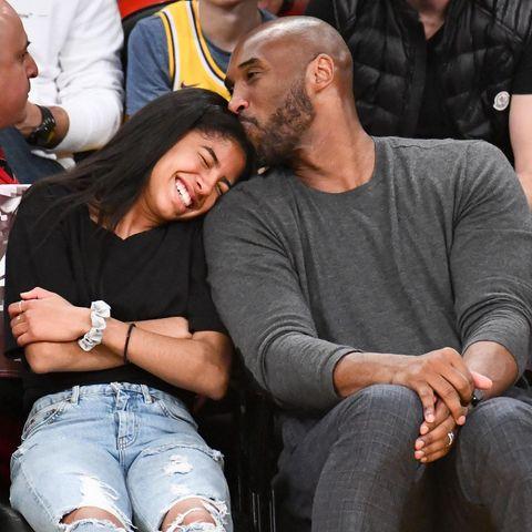 Gianna und Kobe Bryant