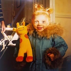 """Anna Ermakova  DieserSonnenschein ist unverkennbar aus Beckerschem Material gemacht:Boris' Tochter Anna postete dieses niedliche Kinderbild auf Instagram und schenkt ihren Followern damit einen kleinen """"Wie süüüß""""-Moment."""