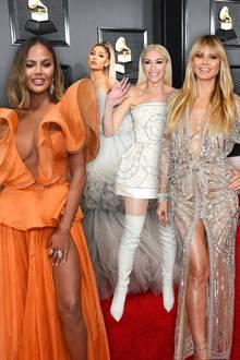 Grammy Awards 2020: Die Tops und Flops vom roten Teppich mit Heidi Klum + Co.