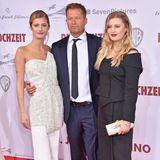 Heiner Lauterbach + Töchter bei Filmpremiere