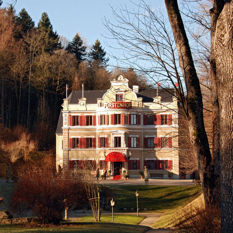 DerFürstenhof im Herbst/Winter.