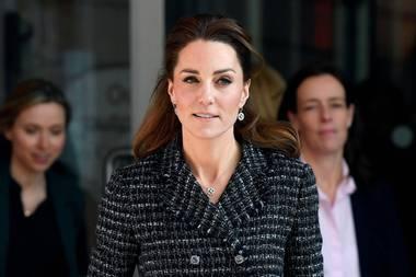 Herzogin Catherine mit ihrer Royal Protection Officerin Emma Probert