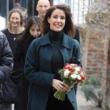 28. Januar 2020  Prinzessin Marie, die Ehefrau von Prinz Joachim von Dänemark, ist in ihrer GeburtsstadtParis unterwegs und besucht eine Ausstellung.