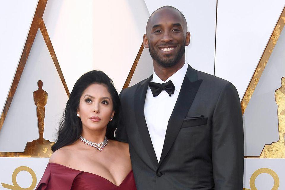 Vanessa Bryant und Kobe Bryant (†41)