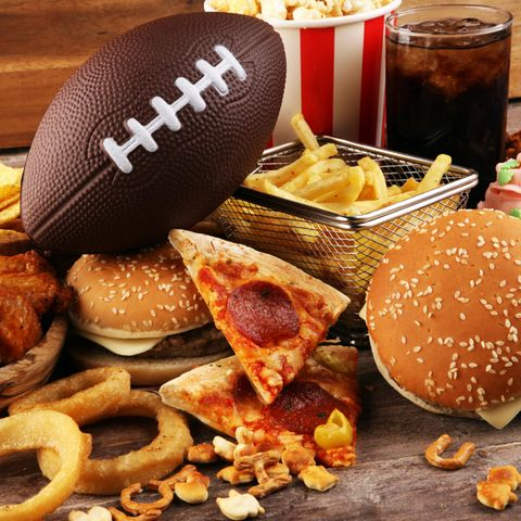 Super Bowl, American Football, Fastfood