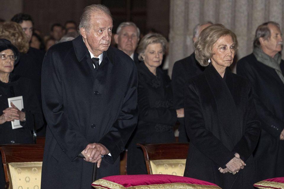 König Juan Carlos, Königin Sofía