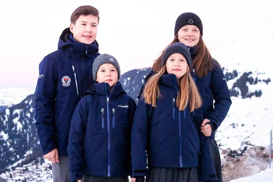Prinz Christian, Prinz Vincent, Prinzessin Josephine,Prinzessin Isabella