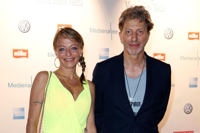 Jo Kern und Rufus Beck gemeinsam beim Filmfest München (2013).