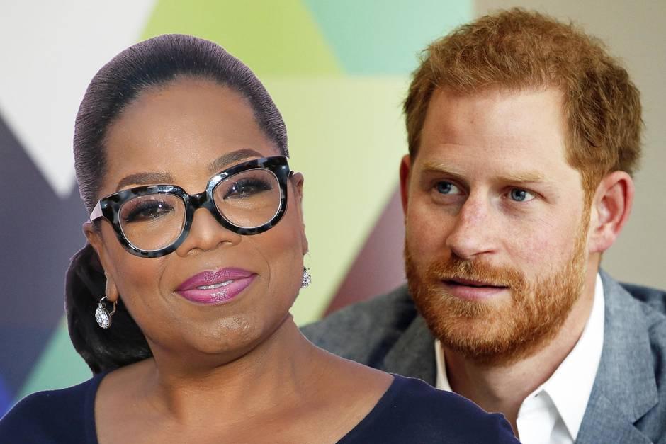 Oprah Winfrey + Prinz Harry