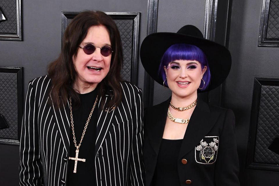Ozzy Osbourne mit seiner Tochter Kelly Osbourne