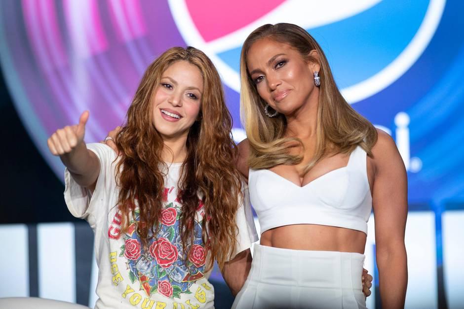 Shakira, JLo