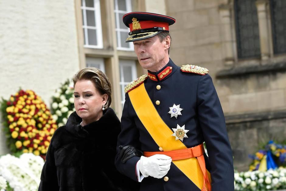 Großherzogin Maria Teresa, Großherzog Henri