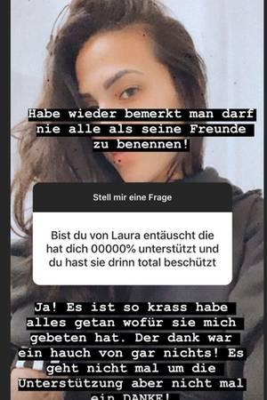 Elena Miras ist enttäuscht von Laura