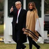 Donald Trump + Melania Trump