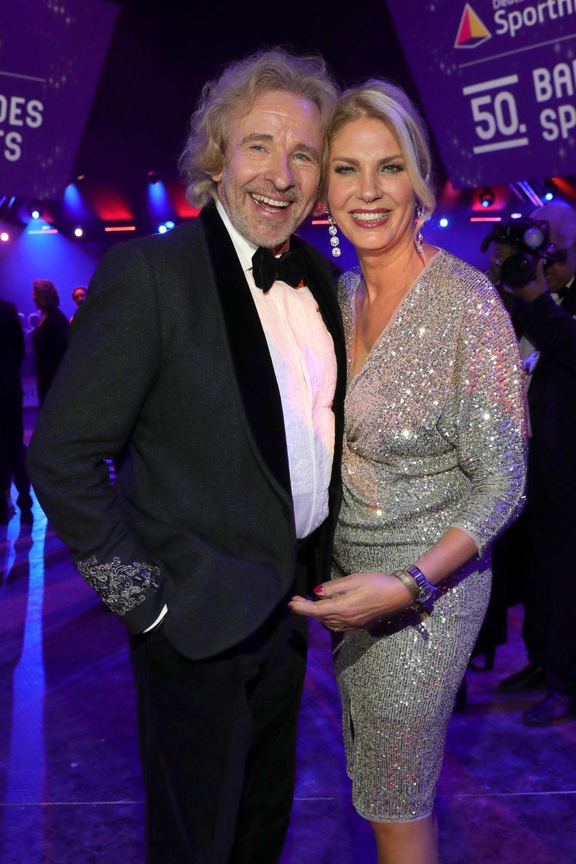 Thomas Gottschalk + Karina Mroß