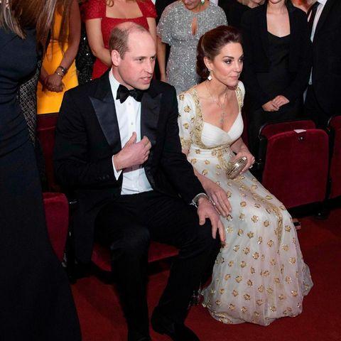Prinz William und Herzogin Catherine bei der Verleihung der BAFTAS 2020.