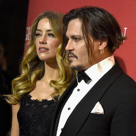 Amber Heard und Johnny Depp im Jahr 2016