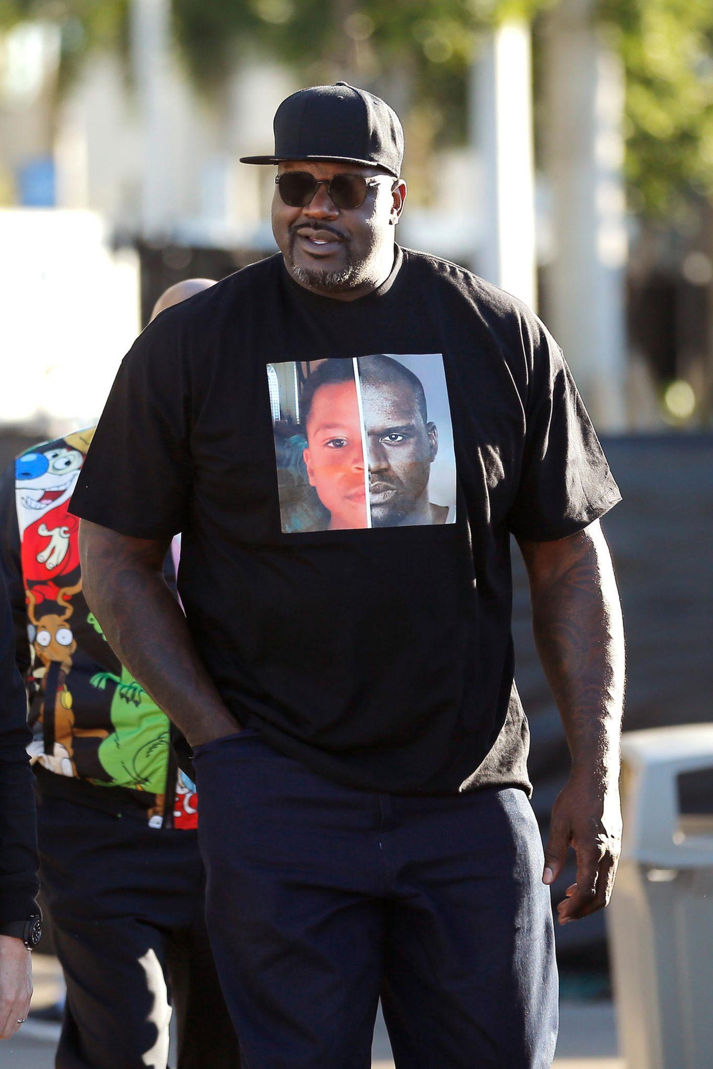 Auch Basketball-LegendeShaquille O'Neal ist großer Football-Fan.