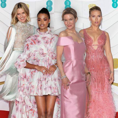 BAFTAs - Tops und Flops vom roten Teppich