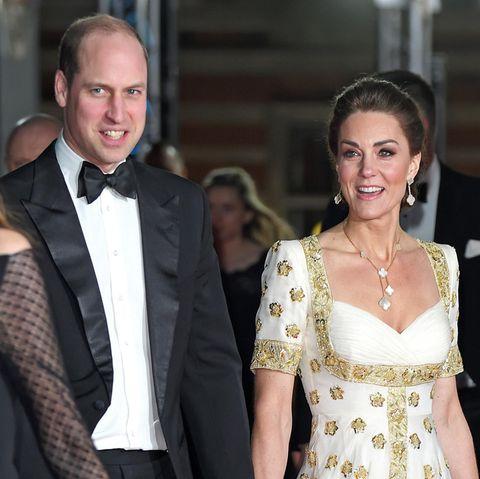 Prinz William und Herzogin Kate bei den BAFTAs 2020