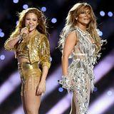 JLO und Shakira übersät mit Swarovski Diamanten