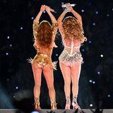 Shakira und JLO lassen beim Super Bowl Hüften kreisen