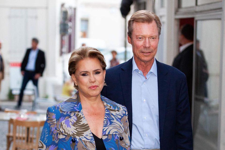 Großherzogin Maria Teresa und Großherzog Henri
