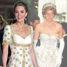 Herzogin Kate vs. Prinzessin Diana