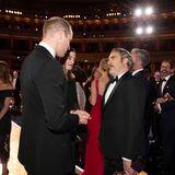 Prinz William und Joaquin Phoenix