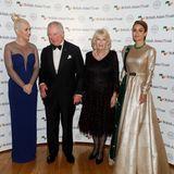 Katy Perry, Prinz Charles, Herzogin Camilla undNatasha Poonawalla