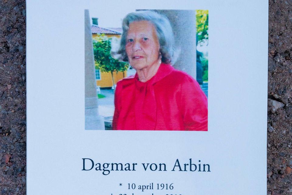 Dagmar von Arbin wurde 103 Jahre alt.