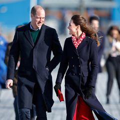 Prinz William und Herzogin Catherine in Wales
