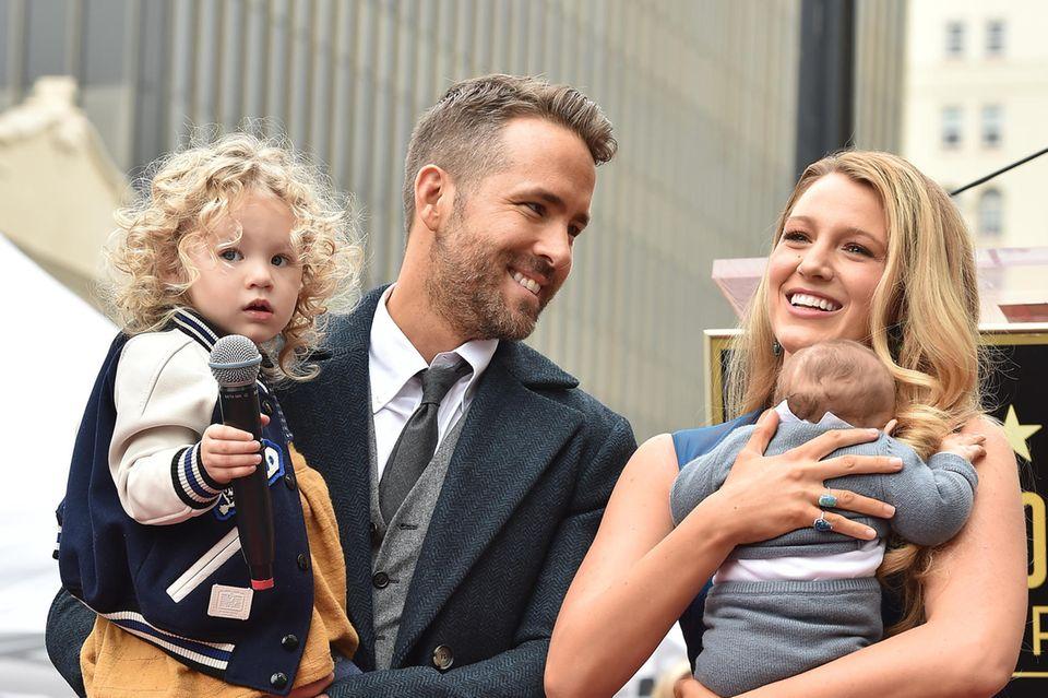 Mittlerweile sind Ryan Reynolds und Blake Lively Eltern von drei Töchtern.