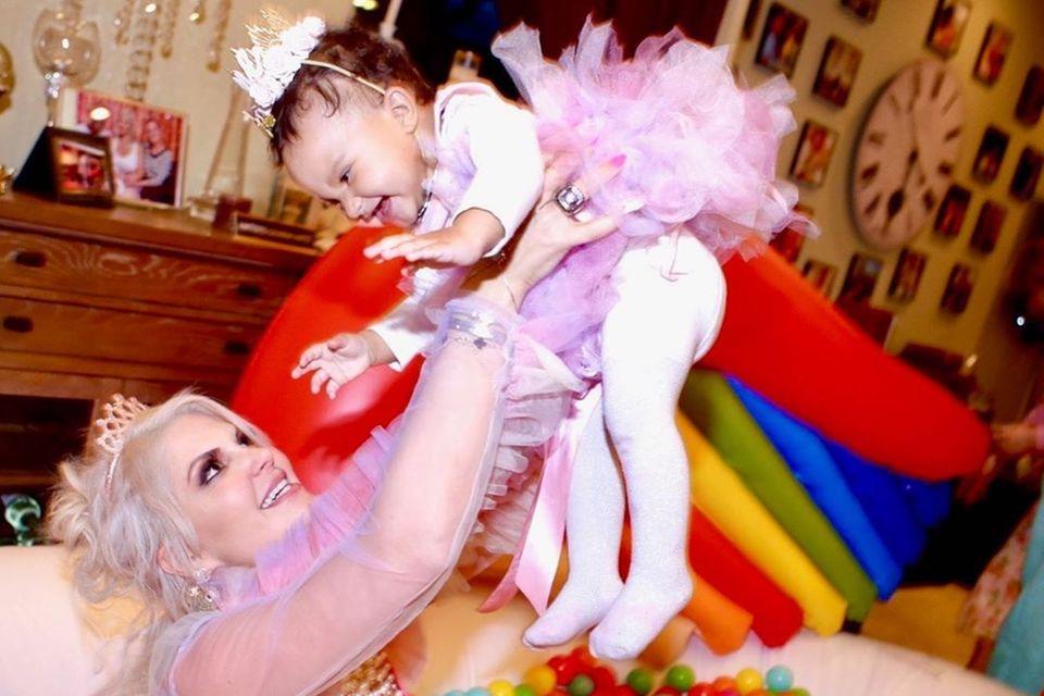 Sophia Vegas und Tochter Amanda