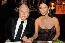 Kirt Douglas und Catherine Zeta-Jones