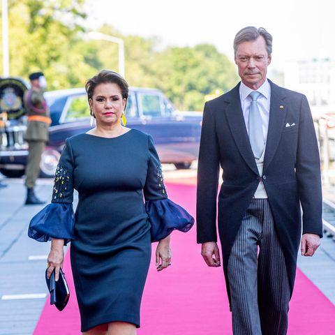Großherzog Maria Teresa und Großherzog Henri