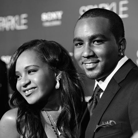 Bobbi Kristina Brown (†22) + Nick Gordon (†30) im August 2012