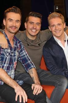 Florian Silbereisen, Jan Smit, Christoff De Bolle