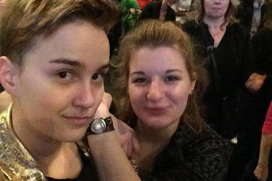 Sophie Grau (links) und Iris Klopfer