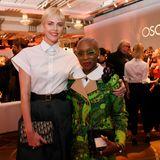 Beim traditionellen Oscar-Lunch für die Nominierten haben sich die Hollywood-Hochkaräter getroffen. Mit dabei Charlize Theron und Cynthia Erivo