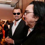 Ebenso wie Leonardo DiCaprio, der seinen Vater George mitgebracht haben.
