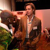 Brad Pitt, hier im Gespräch mit Cynthia Erivo