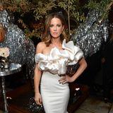 "Kate Beckinsale bezaubertbei der ""Vanity Fair and Lancôme Toast Women in Hollywood""-Party in Weiß."