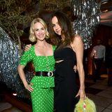 Als Hollywood-Damen werden bei der Party von Vanity Fair und Lancôme auch January Jones und Minnie Driver gefeiert.