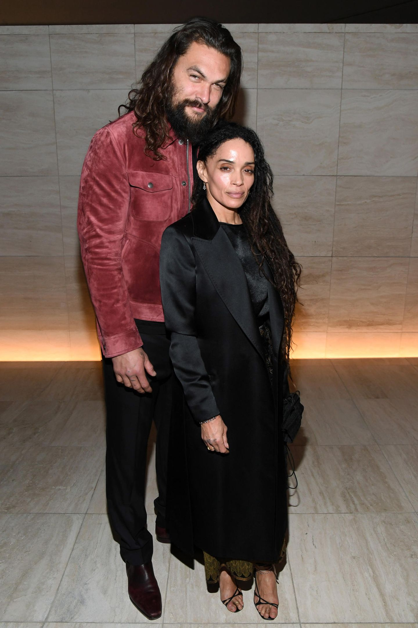 7. Februar 2020  Auch Jason Momoa und Lisa Bonet feiern die neue Kollektion.