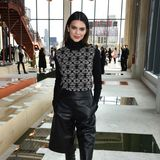 Die 24-jährige Kendall Jenner ist derzeit eines der gefragtesten Models. Kein Wunder also, dass sie auch auf der New York Fashion Week viel unterwegsist, wie hier während eines Events desLabels Longchamp.