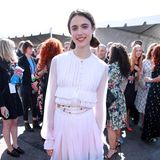 Andie MacDowells Tochter Margaret Qualley bezaubert in Santa Monica im romantischen Chanel-Look.