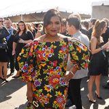 Mindy Kaling sorgt mit ihrem Carolina-Herrera-Kleid für Sommer-Stimmung.